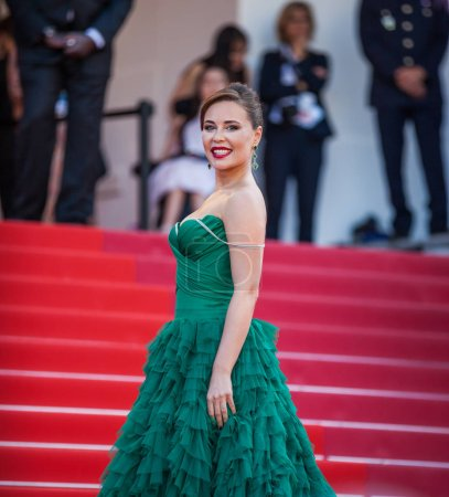"""Photo for CANNES, FRANCE - MAY 25, 2019: Julia Mihalkova attend the closing ceremony screening of """"The Specials"""" during the 72nd annual Cannes Film Festival - Royalty Free Image"""