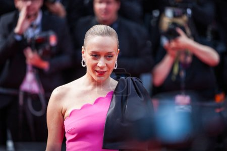 """Photo for CANNES, FRANCE - MAY 21, 2019: Chloe Sevigny attends the screening of """"Once Upon A Time In Hollywood"""" during the 72nd annual Cannes Film Festival - Royalty Free Image"""