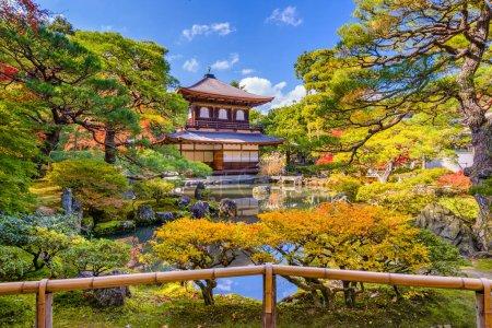 Photo for Kyoto, Japan at Ginkaku-ji Temple during autumn season. - Royalty Free Image