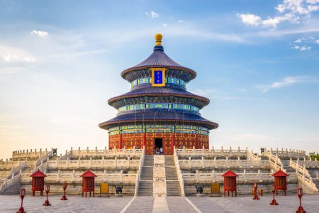Beijing, China  at the historic Temple of Heaven.