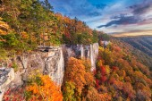 New River Gorge, West Virgnia, USA autumn morning