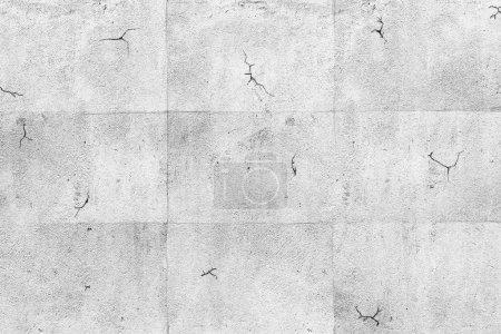 Foto de Pared gris hormigón en blanco con fondo de textura - Imagen libre de derechos