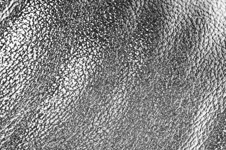 Argent métal abstrait vagues fond