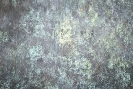 Metal plate background - crude grungy aged steel t...