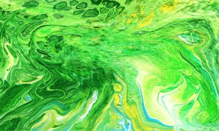 Photo for Acrylic pouring.  Multicolor colourful background. Hand-drawn illustration. - Royalty Free Image