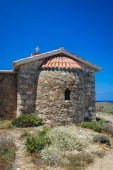 Chapel on Elafonisi island