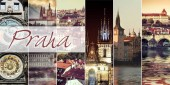 Collage of Prague sights