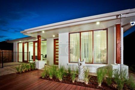 Una nueva casa de diseño arquitectónico en Australia
