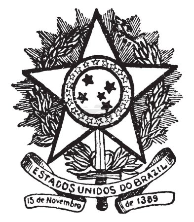 Brazilian Coat of Arms is
