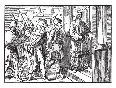 Judas Sends Twelve Thousand Drachmas