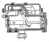Tap system mechanic Vaughan Mckee vintage engraved illustration Industrial encyclopedia E-O Lami - 1875