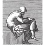Seated Old Man, Adamo Scultori, after Michelangelo...