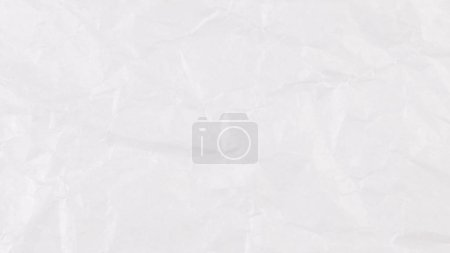 Photo for Texture of crumpled white paper - Royalty Free Image