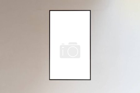 Photo for Large blank billboard on a street wall, banners with room to add your own text - Royalty Free Image