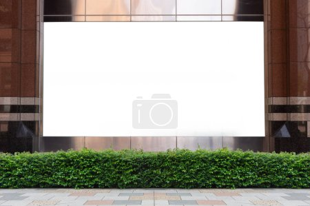 Photo for Shop Boutique Store Front with Big Window and Place for Name - Royalty Free Image