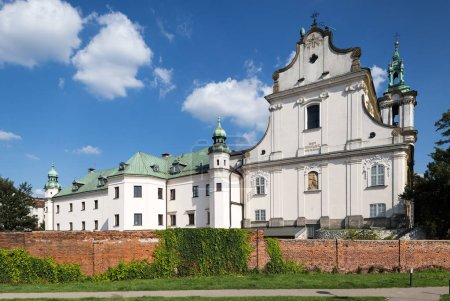Skalka church in Krakow, Poland. The baroque church of Sts. Michelangelo and Stanislaus