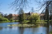 Palace Cistercians place Rudy - Poland