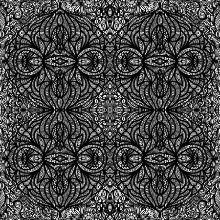 Photo pour Texture de carrelage ornementale sans couture - image libre de droit