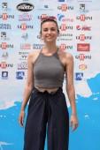 Giffoni Valle Piana, Sa, Italy - July 24, 2018 : Cristina Rambaldi at Giffoni Film Festival 2018 - on July 24, 2018 in Giffoni Valle Piana, Italy