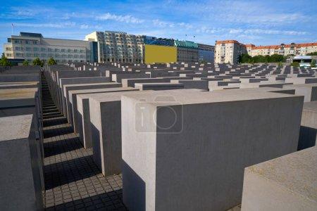 Berlin Holocaust Memorial to murdered Jews in Germany