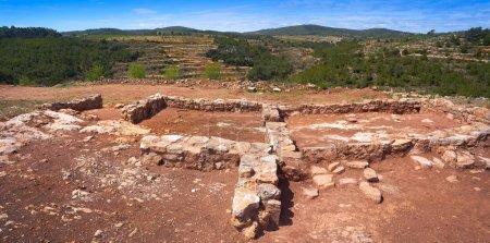 Torrejon de Gatova ruins of Iberians in Spain from V to II century before Christ