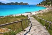 Nostra Senora beach in Islas Cies islands of Vigo at Spain