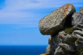 Alto do Principe high view point in Islas Cies islands of Vigo at Spain