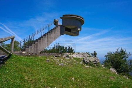 Point de vue Mirador del Fitu Fito Asturias, Espagne
