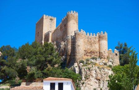 Photo pour Château de Almansa Albacete, Espagne de la province de Castille La Mancha - image libre de droit