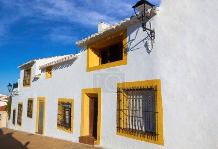 Photo pour Village de Higueruela à Albacete en Castille La Mancha d'Espagne dans la manière de Saint James de Levante - image libre de droit