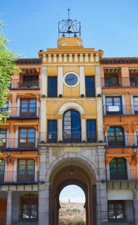 Photo pour Plaza Zocodover Toledo Castille La Mancha, Espagne - image libre de droit
