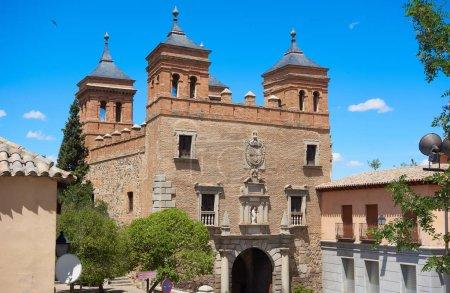 Photo pour Puerta del Cambron porte de Tolède d'Espagne - image libre de droit