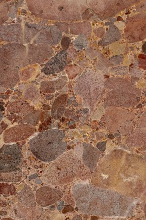 Beautiful close view of brown tones of marble texture.