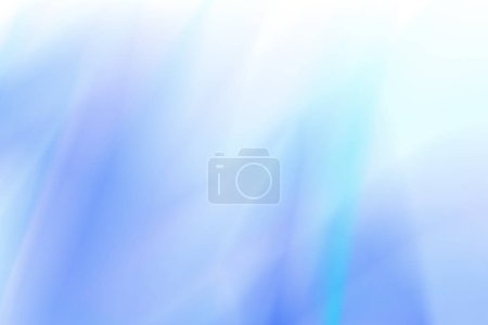 Photo for Blurred blue abstract background. Abstract teal background. Blurred turquoise water backdrop. illustration for your graphic design, banner, summer or aqua poster - Royalty Free Image
