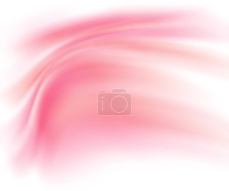Abstract red background with blurred paint