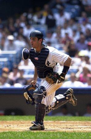 Jorge Posada catcher for the