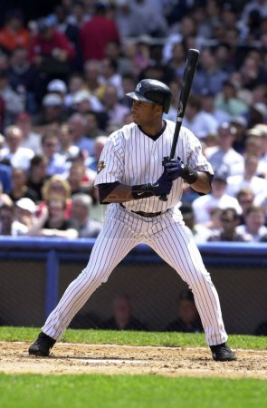 Bernie Williams outfielder for the