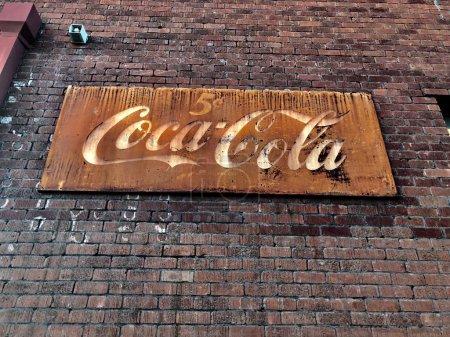 Old Vintage Coca Cola Sign