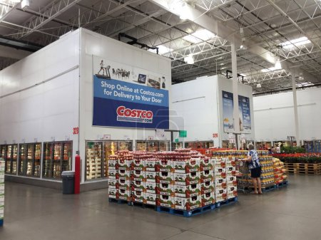 Costco Wholesale Corporation, trading as Costco, is an American multinational corporation which operates a chain of membership-only warehouse clubs.