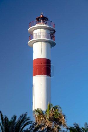 New lighthouse in Rota, Cadiz, Spain