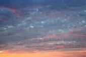 Evening sky abstract background with sunset