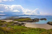 The Ring of Kerry, view to the atlantic ocean, Ireland, Europe
