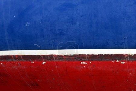 Photo pour Détail du bateau près d'un petit port au Danemark - image libre de droit