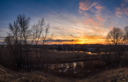 Foto de Hermoso paisaje natural, estaciones, hora del día - Imagen libre de derechos