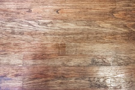 Photo for Close up view of brown wooden planks texture - Royalty Free Image
