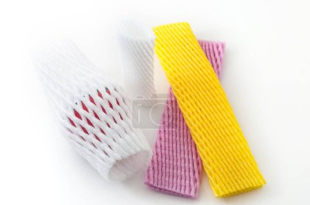 colorful packaging nets for fruit