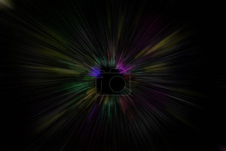 Acceleration super fast motion blur of light ray for background design