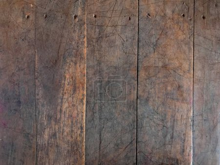 Photo for Wooden planks board, grunge textured background - Royalty Free Image