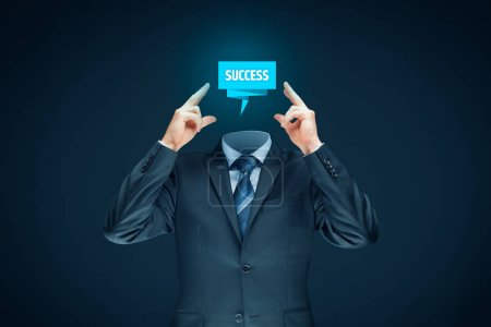 Manager (CEO, businessman, coach, leadership) motivate himself or plan to succeed.