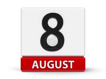 Cubes calendar 8th August